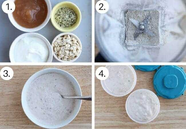 How to make Overnight Oats Step by Step process