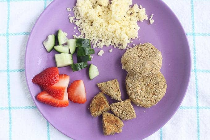 lentil-falafel-with-couscous-and-strawberries