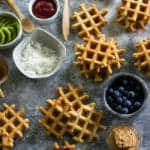 vanilla whole wheat waffles