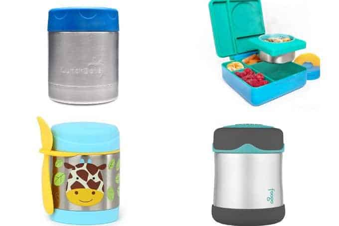 best kids thermos in grid of 4