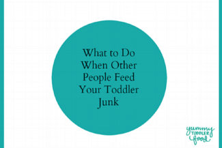 Do You Worry about the Foods Other People Feed Your Kids?