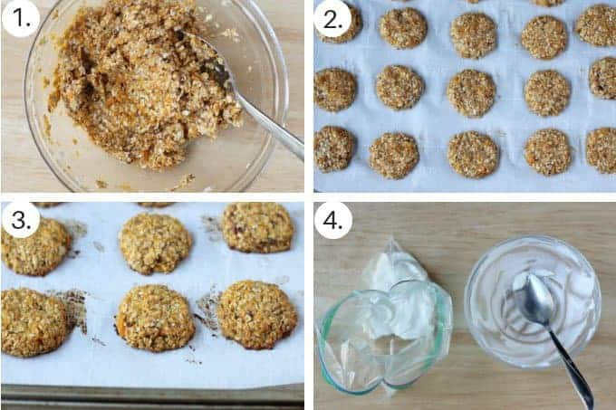 how to make sweet potato cookies step by step