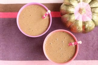 Healthy Pumpkin Smoothie with Chocolate
