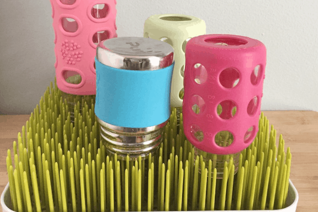 Quick Tip: Wash the Baby Bottle Drying Rack!