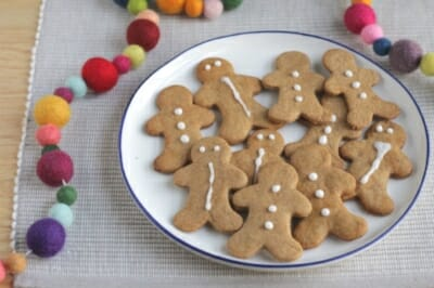 Easy Gingerbread Cookies (Lower Sugar)