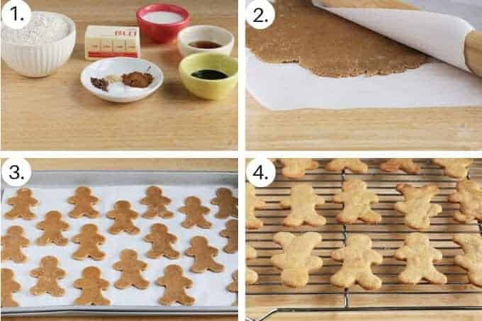 how to make easy gingerbread cookies step by step