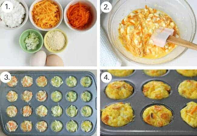 how to make egg muffins step by step