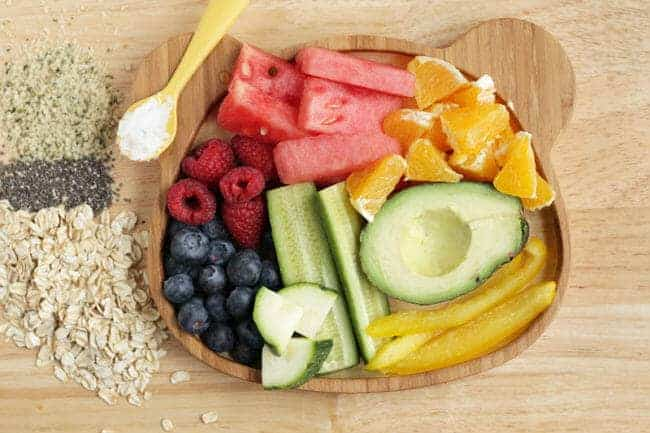 produce for toddler constipation