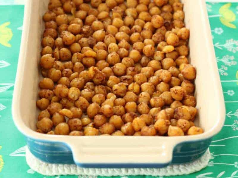 soft roasted chickpeas snack