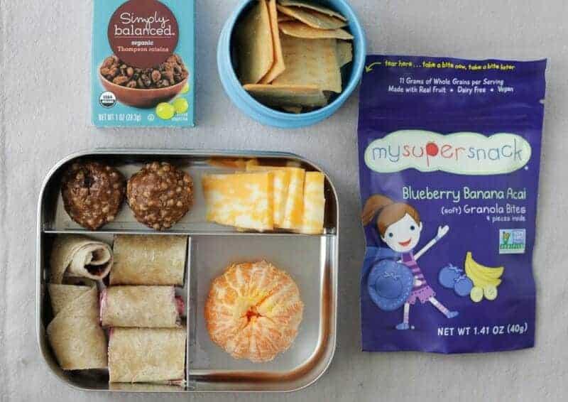 Easy Tortilla Spirals Toddler Lunch