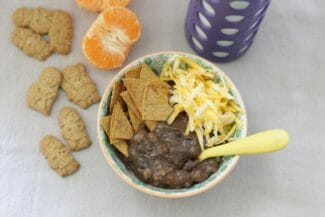 Toddler-Friendly Slow Cooker Black Bean Soup