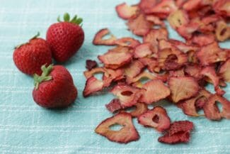 Easy Oven-Dried Strawberries