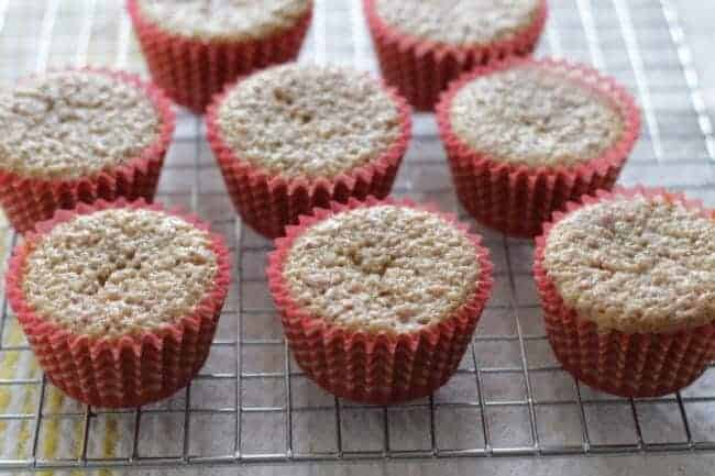 baked strawberry cupcakes