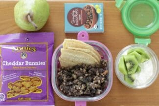 Yummy Toddler Taco Lunch + Snacks