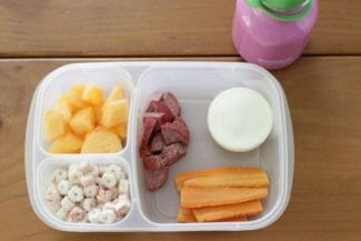 Toddler Lunch: Dairy-Free Finger Foods