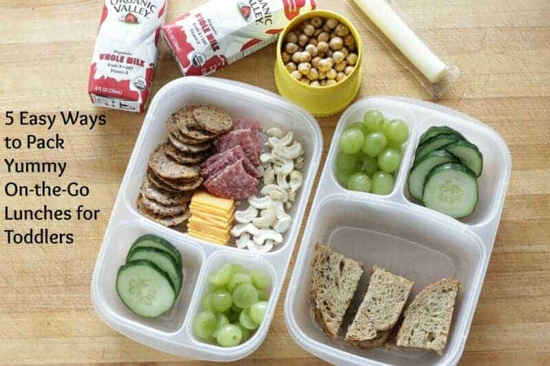 toddler lunch packing tips
