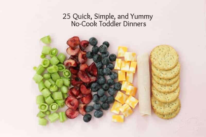 quick toddler dinners
