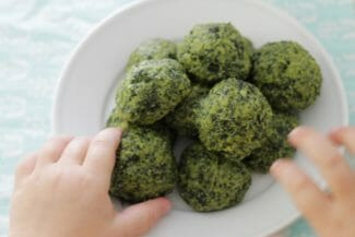 Cheesy Kale Bites Recipe