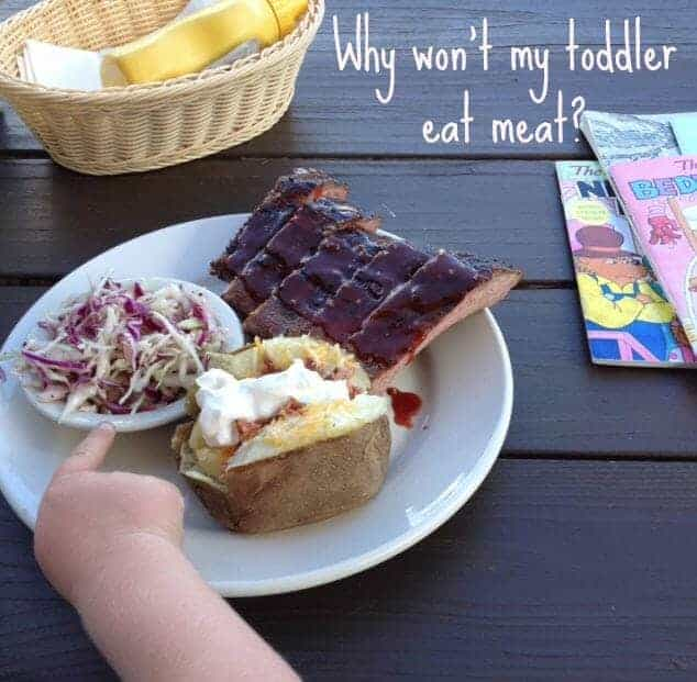 toddler eat meat