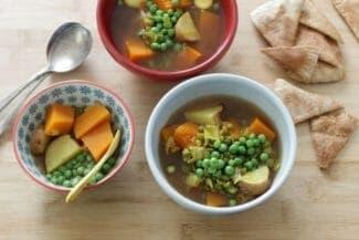 Slow Cooker Vegetarian Indian Stew