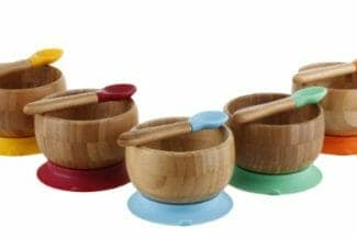 Cool Bamboo Suction Bowl