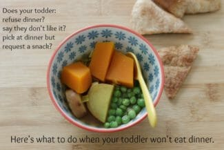 Here's What to Do When Your Toddler Won't Eat Dinner