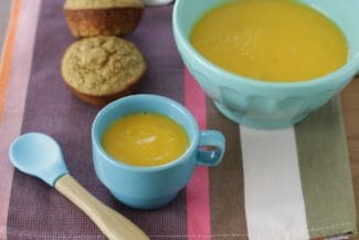 Creamy Butternut Squash Apple Soup