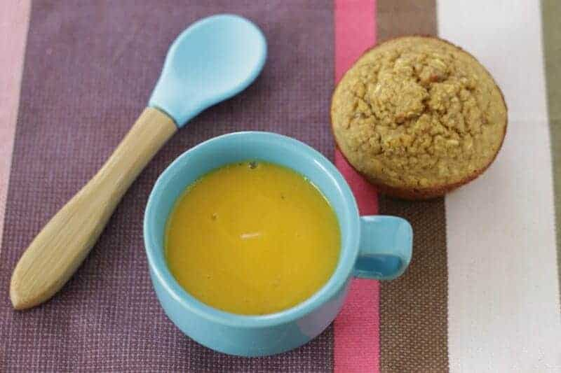 Butternut Squash and Apple Soup for families