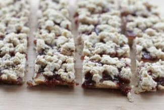 Yummy Strawberry Jam Bars