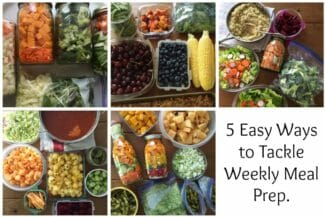 How to Meal Prep For Family Dinners