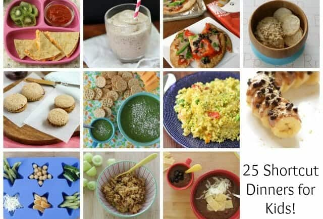 Easy Meals: 25 Shortcut Dinners
