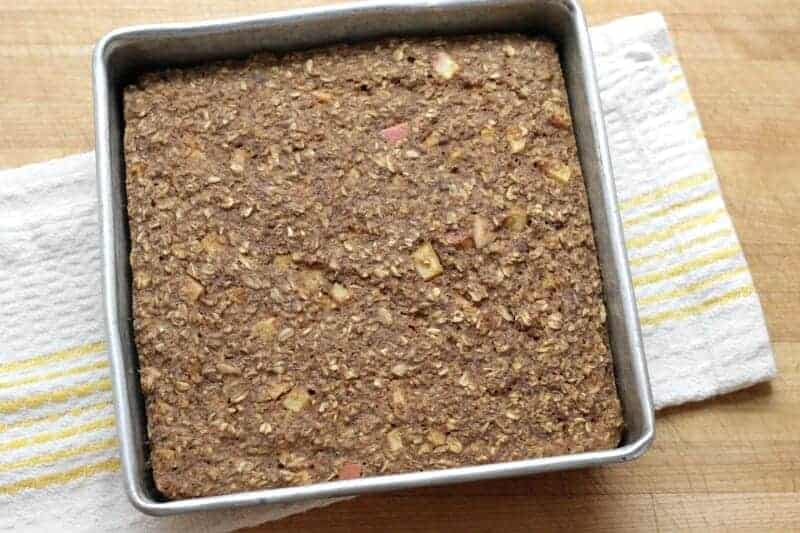 One-pan Apple Oatmeal Bread