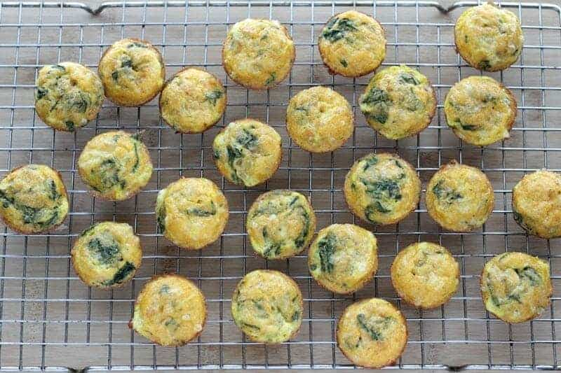 Mexican Egg Muffins with Spinach