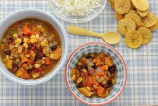 Big Batch Veggie Bean Chili