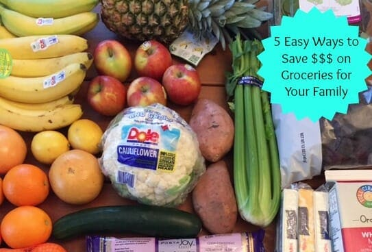 5 Easy Ways to Save Money on Food for Your Family