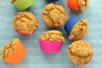Sweet Potato Cornbread Muffins