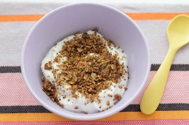 How to Make Granola for Kids: Granola Sprinkles!