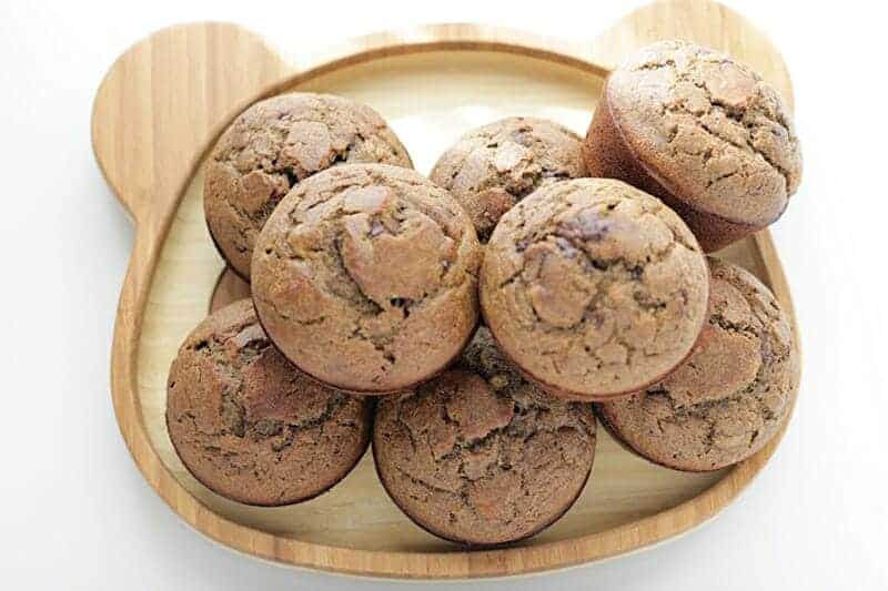 banana chocolate chip muffins without gluten