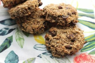 Banana Raisin Breakfast Cookies (Egg-Free)