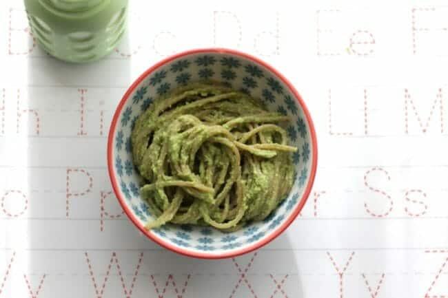Broccoli Pesto with Yogurt