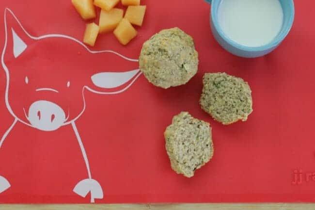 vegan zucchini mini muffins