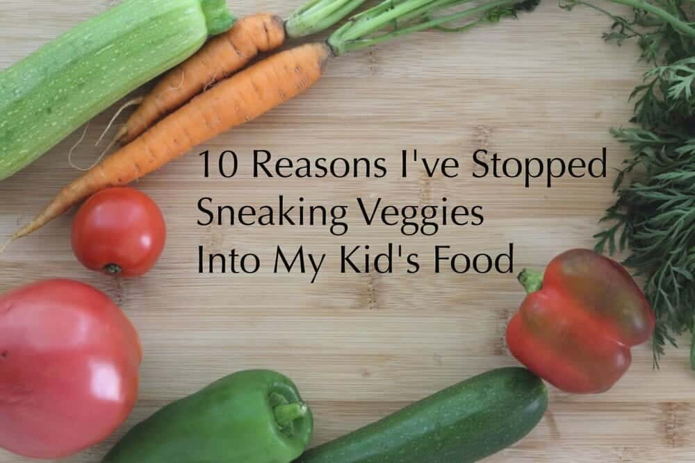 Picky Eater? Why to Stop Sneaking in Healthy Food