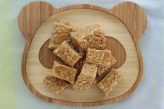 Homemade Rice Crispy Treats (with Just 3 Natural Ingredients!)