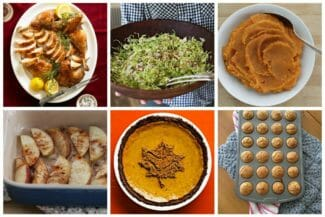 Thanksgiving Week Family Meal Plan