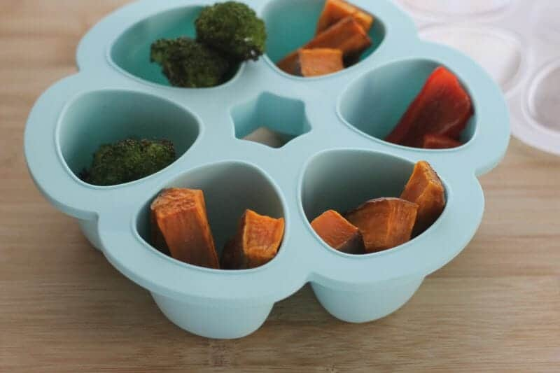 Starting Solids with Baby Led Weaning and Purees