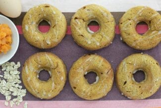 Baked Donuts Recipe with Sweet Potato