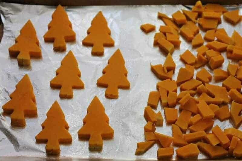 roasted butternut squash trees