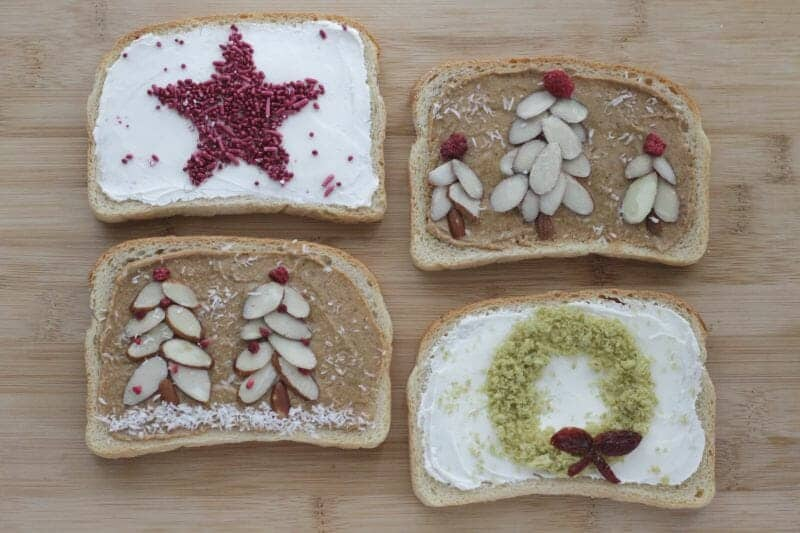 Fun Holiday Toast for Kids