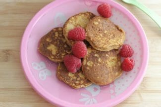 Coconut Pancakes with Sweet Potato