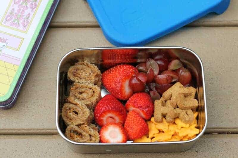 easy snack box for toddler lunch